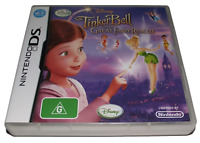 Tinker Bell and the Great Fairy Rescue Nintendo DS 2DS 3DS Game *Complete*