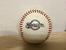 Palla Da Baseball Originale Con Stemma Brewers Milwaukee Rara Da Collezione