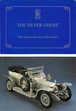 Rolls-Royce Silver Ghost NSPCC Charity Tour 1990 UK Market Brochure & Postcard