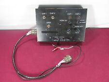 Aircraft Siren Control Test Box P/N T6455-10187-1 -Test Aviation Avionics