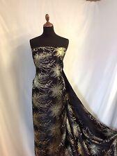 "NEW Silky BROCADE GORGEOUS JACQUARD Fabric 44"" 113cm Dress Film Costume Art NEW"