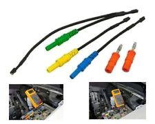 Test Lead Kit for Relay Test Jumpers - Lisle 69200 6 Pcs - Terminal - Banana Tip
