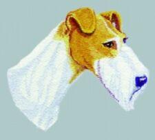 Embroidered Ladies Short-Sleeved T-Shirt - Wire Fox Terrier Bt3417