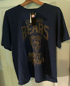 """Chicago Bears NFL Men's XL """"Monsters Of The Midway"""" Graphic Tee By Lucky NWT !!"""