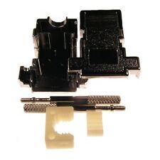 D-Sub-Hauben 9-polig GP09GMT SUB-D-Kappen metallisiert Rändelschrauben 085075