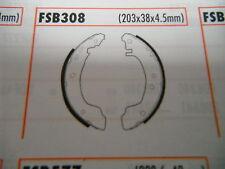Fits Nissan Primera P10 1.6 W10 2.0D rear brake shoes VX897 BS3308 FSB308