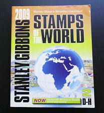 2009 STANLEY GIBBONS Volume 2 D-H Stamps of the World Catalogue Catalog book