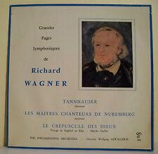 "33T Richard WAGNER Disque LP 12"" TANNHAUSER - NUREMBERG Dir SAWALLISCH - CND 579"