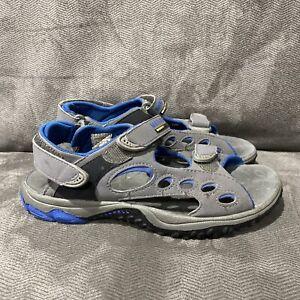 Merrell Chameleon Sandal Youth Size 2 Pewter Royal Blue