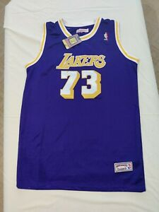 Dennis Rodman Lakers Jersey Mitchell & Ness Hardwood Classics Men's Size 54 NEW