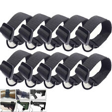 10PC Butt Stock Sling Adapter Universal Fit for Shotgun Rifle Attachment Mount