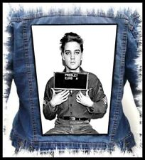 ELVIS PRESLEY - In Jail --- Giant Backpatch Back Patch