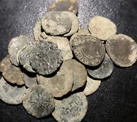1500s Random Uncleaned France Silver Liard Crusades Rare Medieval French Coin