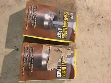 HVLP SPRAY GUN Liners PAINT CUP CANISTER PLASTIC QUART CONTAINER 10 CT 2 Boxes