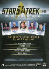 Star Trek 50th Anniversary Promo Card P4