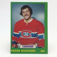 1973 74 OPC O Pee Chee Pierre Bouchard 261 Montreal Canadiens Hockey Card E661