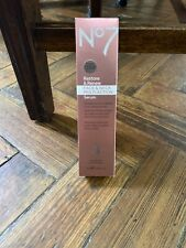 BNIB Boots No7 Restore and Reface & Neck Multi Action Serum 50ml RRP £36.00