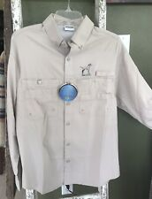 Nwt Sea Dog Dalmatian Sport/Fishing Sun Protection Shirt Upf 40