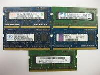 Major Brand 4GB (2x2GB)  DDR3-1333MHz PC3-10600S SO-DIMM Memory  Laptop RAM