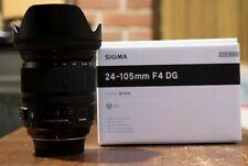 Sigma DG 24-105mm f/4 HSM DG OS Aspherical Lens For Nikon F