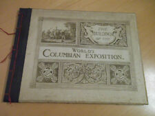 Estremamente RAR! - the buildings of the World's Columbian esposizione 1492 - 1892