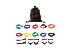 Lifeline Resistance Trainer Kit with 10lb to 100lb Adjustable Resistance Leve...