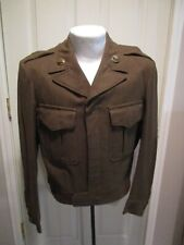 Post Ww2, 1949, Usaaf Ike Jacket, Army Service Forces, Size 36R, Named!