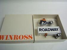 Winross Roadway International Cab Short Trailer delivery truck Diecast 1/64 MIB