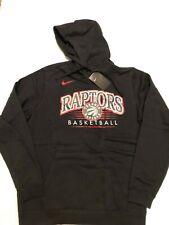 Nike Toronto Raptors Crest Club Size: 3XL Hoodie Pullover NWT Black