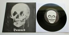 """The Damned - Stretcher Case Baby UK 1977 Stiff Records Limited Gig Only 7"""" P/S"""