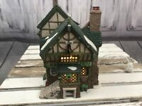 Department 56 Pied Bull Inn Dicken's Series 2nd Second Edition Working Condition