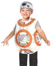 Star Wars Toddler BB8 Costume Rubies Halloween BB-8 Disney Dress Up 2T 3T NEW