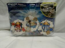 New! PLAYMOBIL 5591 Christmas Angel Ornaments Set Ages 4-10