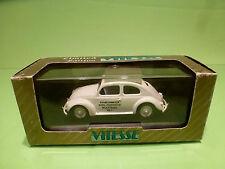 VITESSE VW VOLKSWAGEN KAFER BEETLE - AMBULANCE KRANKENWAGEN  - WHITE1:43 - NMIB