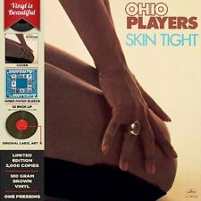 THE OHIO PLAYERS // Skin Tight // NEW 180 GRAM BROWN COLORED RECORD LP VINYL