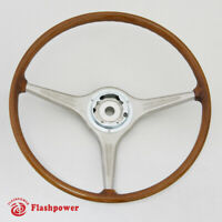 420mm VDM Wood Steering Wheel Porsche 356B 356C Carrera 2000 T6 T5