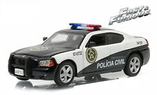 """2006 Dodge Charger Pursuit Policia Civil 1/43 """"Fast Five"""" Sao Paulo Movie Car"""