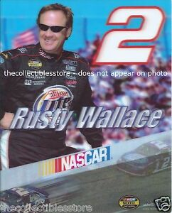 RUSTY WALLACE MILLER LITE BEER DODGE NASCAR NEXTEL CUP 8 X 10 MOTION PHOTO