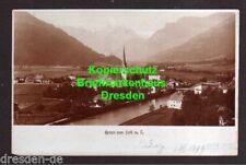 119339 AK Zell am Ziller 1899 Fotokarte Panorama mit Kirche Mayrhofen