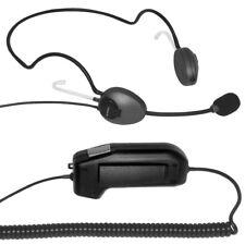 câble Casque tour de cou AirTalk NBS type monophonique PTT-13 Bouton envoyer USB