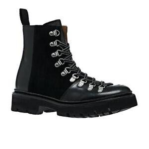 Original Grenson Black LeatherNanette Hiker Boots UK Size 5
