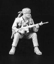 ANDREA MINIATURES S6-A01 - SEATED U.S. SEAL 1968 - 54mm WHITE METAL