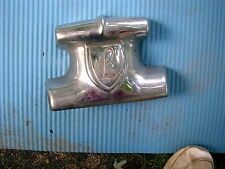 1946 1947 1948 ? LINCOLN CHROME FRONT BUMPER CENTER WITH SCRIPTED 'L' L@@K!!