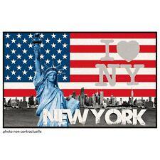 Tapis rectangle 50x80 cm imprimé UNITED STATES