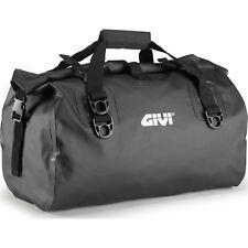 Givi Easy-T Range Waterproof Cylinder Seat Bag 40L Black Motorcycle GhostBikes