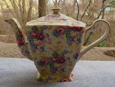 Royal Winton Welbeck Floral Chintz Large Square Teapot
