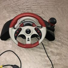 Mad Catz MC2 Universal Race *Steering Wheel ONLY * For Xbox PS2 Gamecube