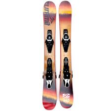 Summit Bamboo 110cm Skiboards Snowblades w. Atomic Adjustable Ski Bindings 2020