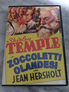 """DVD """"ZOCCOLETTI OLANDESI"""" SHIRLEY TEMPLE F.C. EDIZIONE VENDITA ITALIA"""