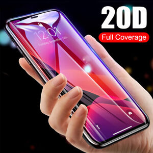 For iPhone 11 Pro Max 2019 10D Curved Full Cover Tempered Glass Screen Protector